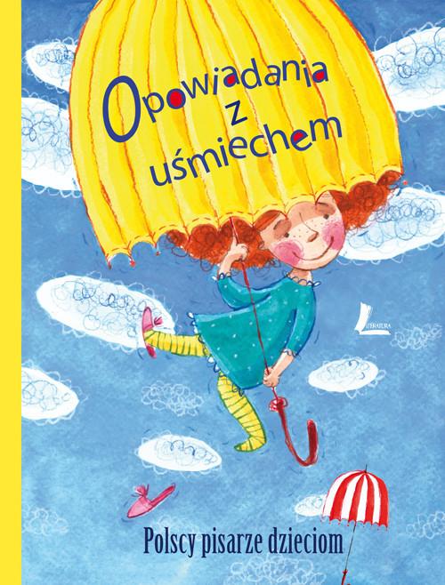 okładka Opowiadania z uśmiechem Polscy pisarze dzieciomksiążka     