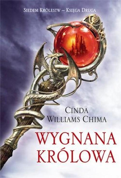 okładka Wygnana królowa Siedem Królestw Księga 2, Książka   Cinda Williams Chima
