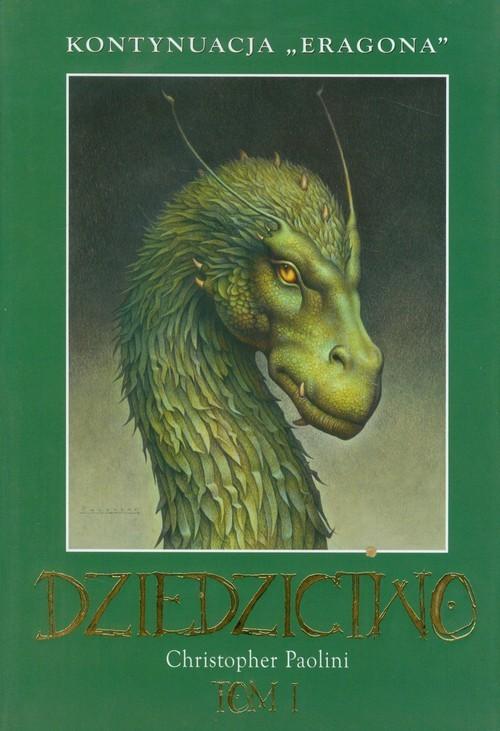 okładka Dziedzictwo Tom 1, Książka   Paolini Christopher