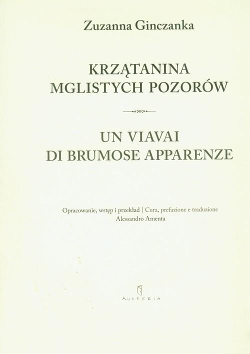 okładka Krzątanina mglistych pozorów, Książka | Ginczanka Zuzanna