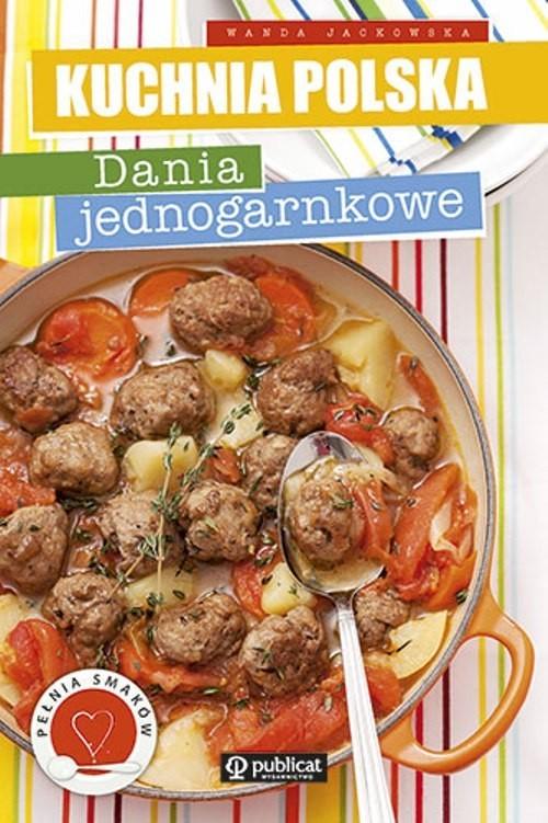 okładka Dania jednogarnkowe, Książka | Jackowska Wanda