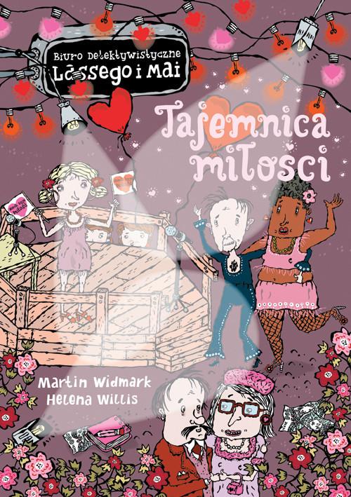 okładka Tajemnica miłości, Książka | Martin Widmark, Helena Willis