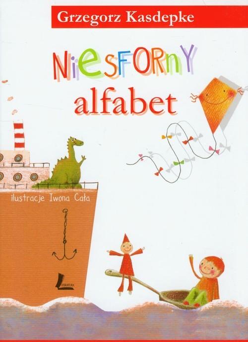 okładka Niesforny alfabet, Książka | Kasdepke Grzegorz