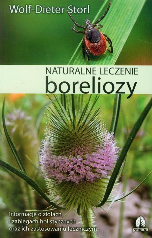 okładka Naturalne leczenie boreliozy, Książka | Storl Wolf-Dieter