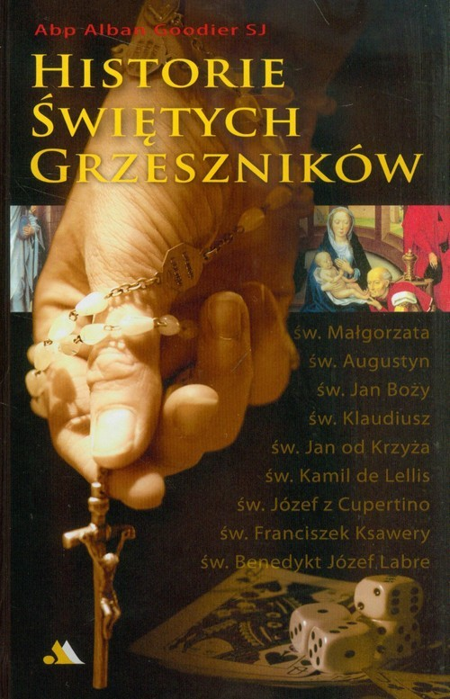 okładka Historie świętych grzeszników, Książka   Goodier Alban