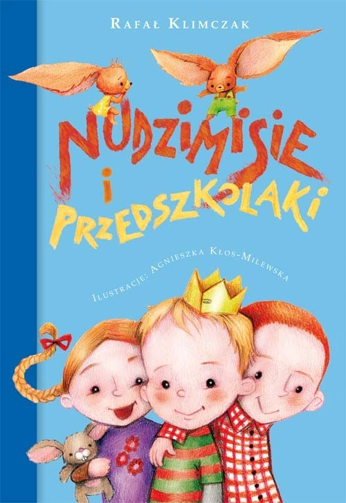 okładka Nudzimisie i przedszkolaki, Książka | Klimczak Rafał