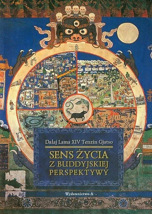 okładka Sens życia z buddyjskiej perspektywy, Książka | Dalajlama XIV