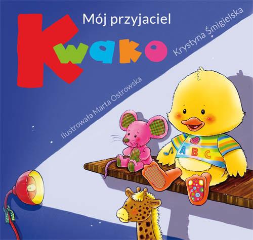 okładka Mój przyjaciel Kwako, Książka | Krystyna Śmigielska