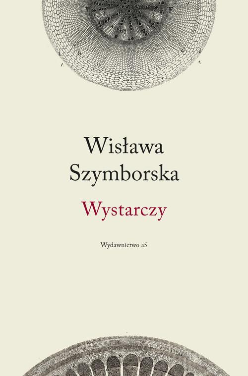 okładka Wystarczy, Książka | Szymborska Wisława