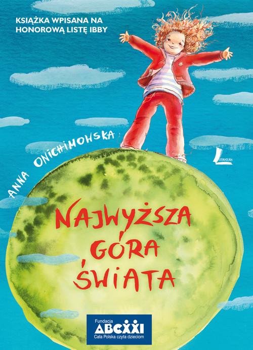 okładka Najwyższa góra świata, Książka | Onichimowska Anna