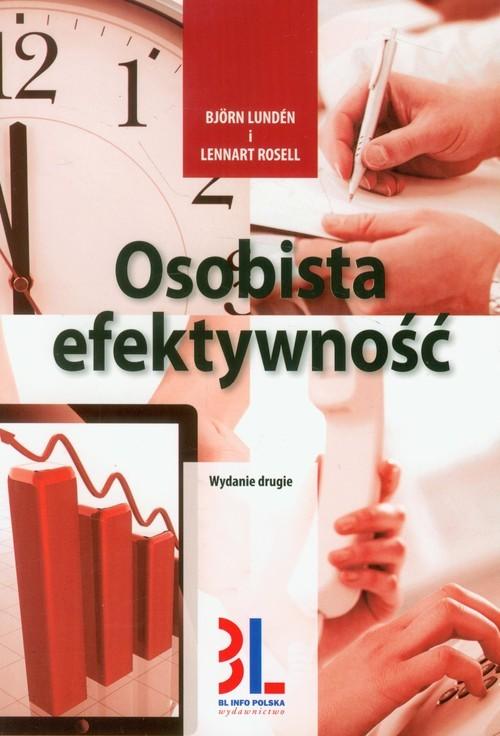 okładka Osobista efektywność, Książka | Björn Lundén, Lennart Rosell