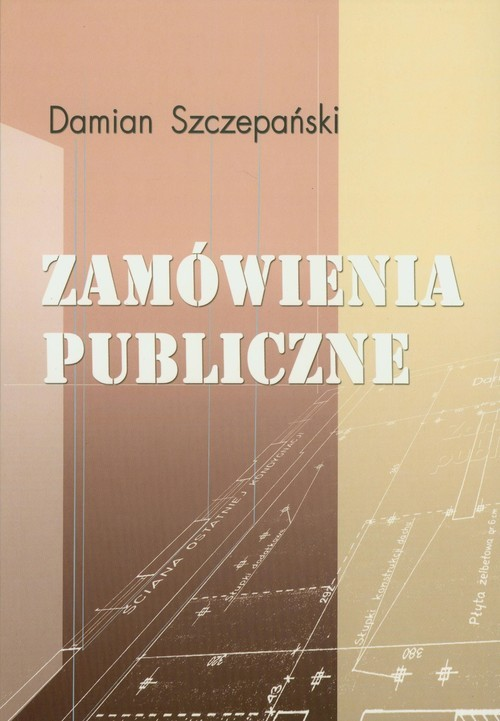 okładka Zamówienia publiczne, Książka   Szczepański Damian