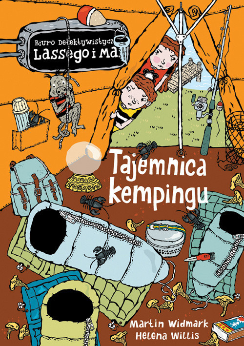okładka Tajemnica kempingu, Książka | Widmark Martin