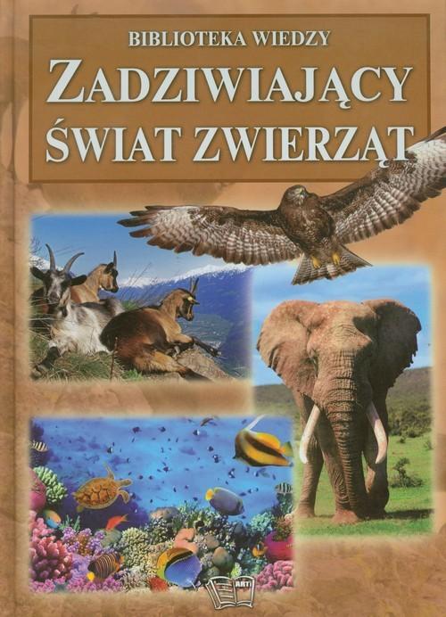 okładka Zadziwiający świat zwierząt, Książka | Włodarczyk Joanna