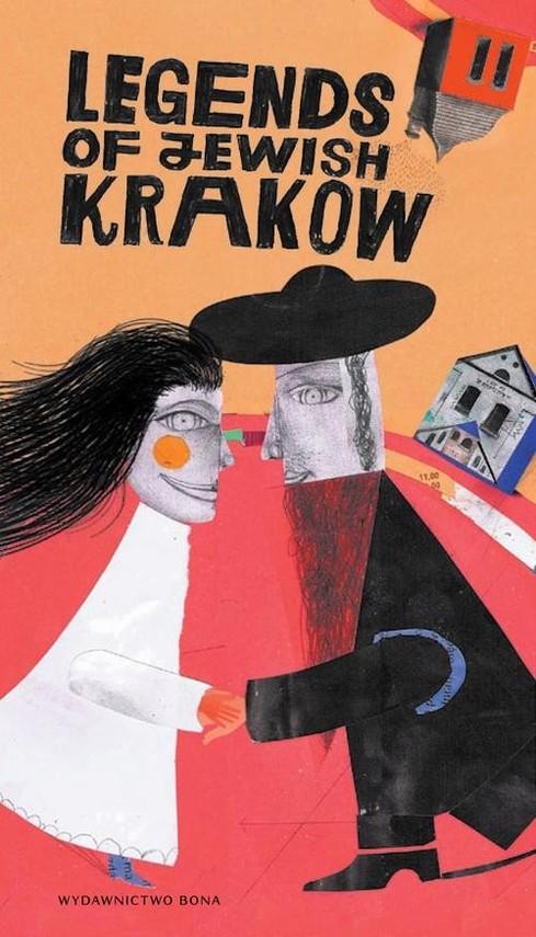 okładka Legendy żydowskiego Krakowa Legends of Jewish Krakow, Książka | Kiela Artur