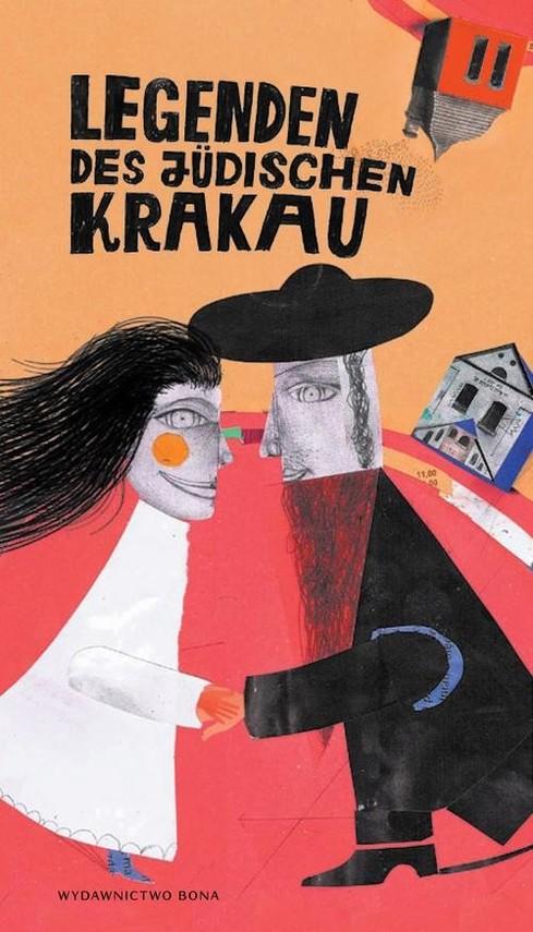 okładka Legendy żydowskiego Krakowa Legenden des judischen Krakau, Książka | Kiela Artur