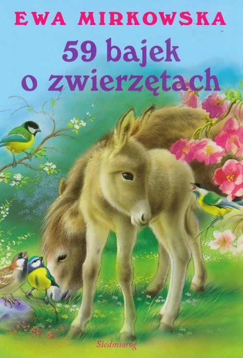 okładka 59 bajek o zwierzętach, Książka | Ewa Mirkowska