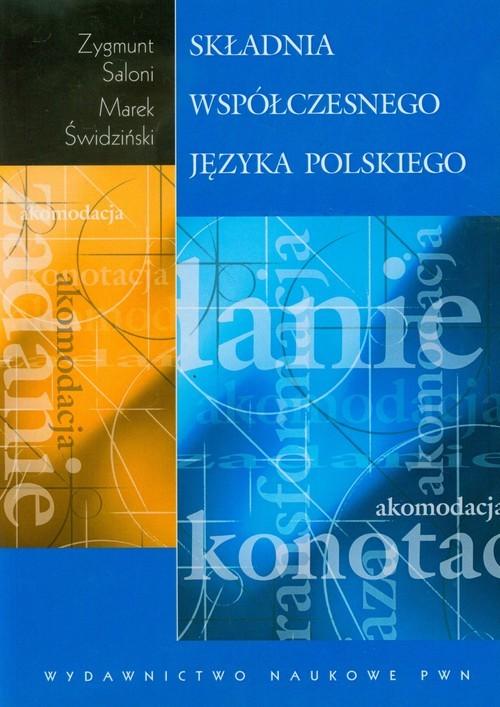 okładka Składnia współczesnego języka polskiego, Książka | Zygmunt Saloni, Marek Świdziński