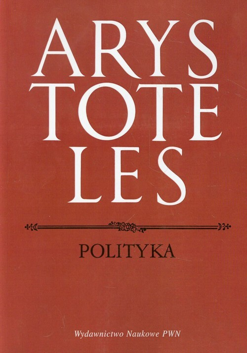 okładka Polityka, Książka   Arystoteles