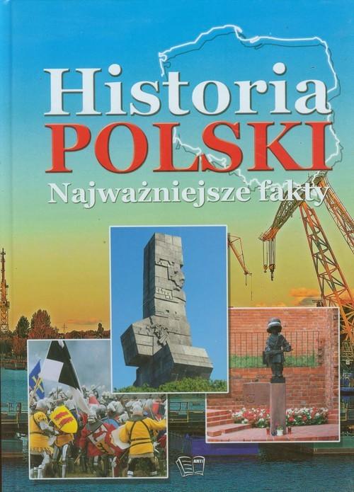 okładka Historia Polski Najważniejsze fakty, Książka | Włodarczyk Joanna