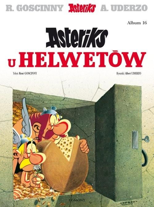 okładka Asteriks Asteriks u Helwetów Tom 16, Książka   Goscinny Rene