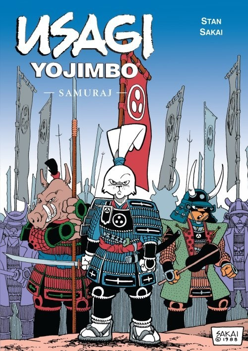 okładka Usagi Yojimbo Samuraj Tom 2, Książka | Sakai Stan