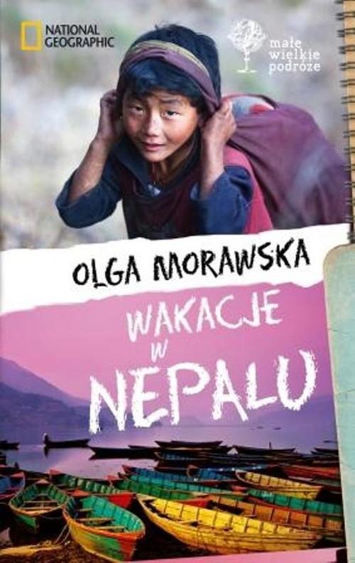 okładka Wakacje w Nepalu, Książka | Morawska Olga