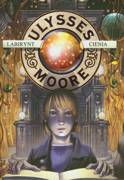 okładka Ulysses Moore 9 Labirynt cienia, Książka   Pierdomenico Baccalario