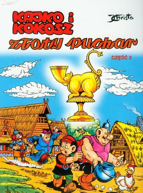 okładka Kajko i Kokosz Złoty Puchar 3, Książka | Christa Janusz