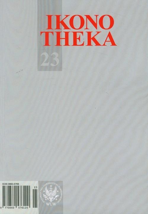 okładka Ikonotheka 23/2012, Książka | Praca Zbiorowa