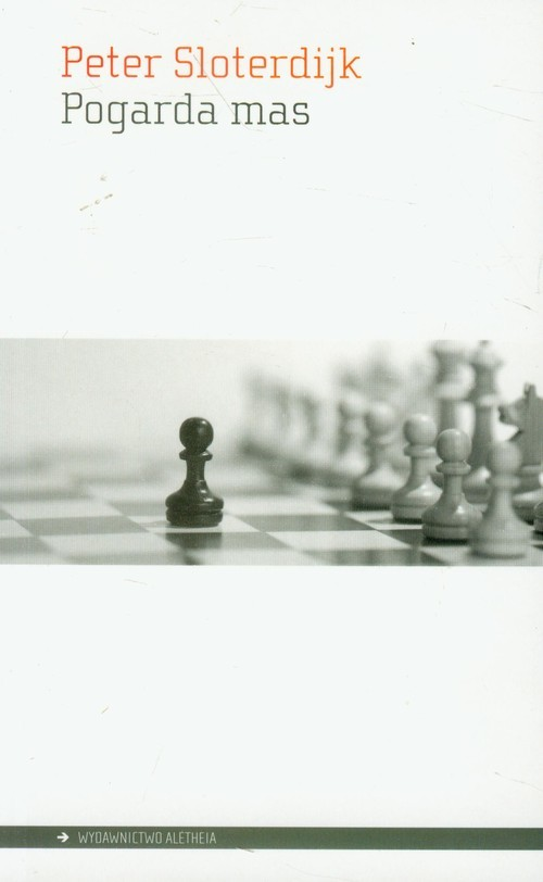 okładka Pogarda mas, Książka | Sloterdijk Peter