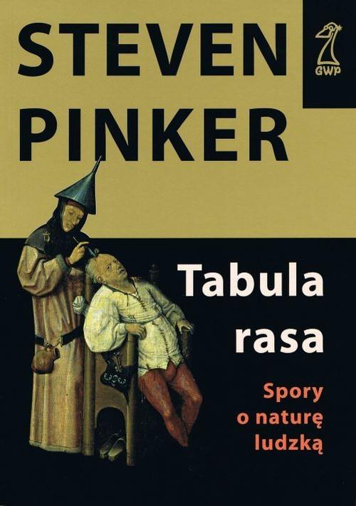 okładka Tabula rasa, Książka | Steven Pinker