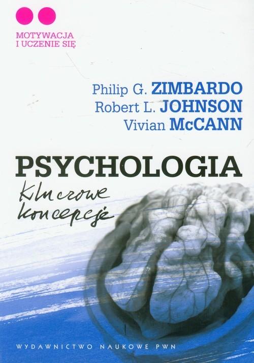 okładka Psychologia Kluczowe koncepcje Tom 2, Książka | Philip G. Zimbardo, Robert L.  Johnson, McCann