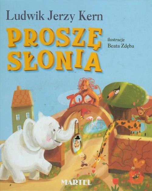 okładka Proszę słonia, Książka   Ludwik Jerzy Kern