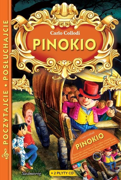 okładka Pinokio z płytą CD Poczytajcie, posłuchajcie, Książka | Collodi Carlo