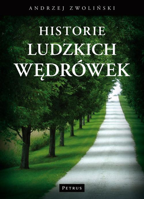 okładka Historie ludzkich wędrówek, Książka | Andrzej Zwoliński