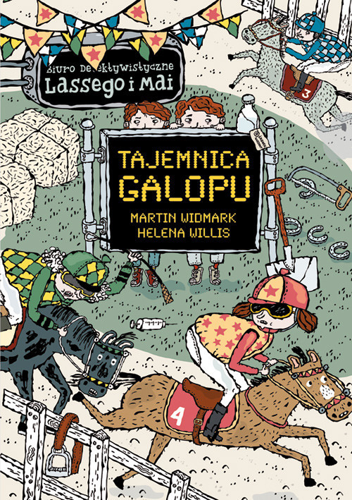 okładka Tajemnica galopu, Książka | Widmark Martin