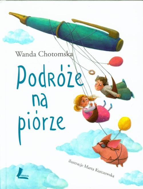 okładka Podróże na piórzeksiążka |  | Chotomska Wanda