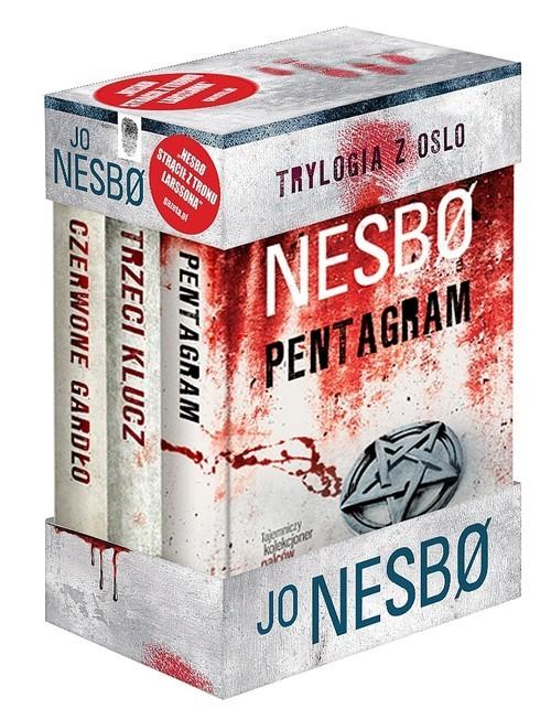 okładka Trylogia z Oslo Czerwone gardło / Trzeci klucz / Pentagram Pakiet, Książka | Jo Nesbø