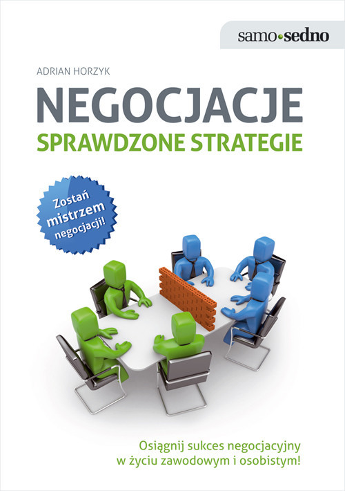 okładka Negocjacje Sprawdzone strategie, Książka | Horzyk Adrian