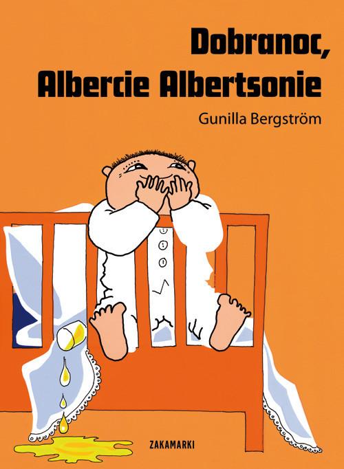 okładka Dobranoc Albercie Albertsonie, Książka | Bergstrom Gunilla