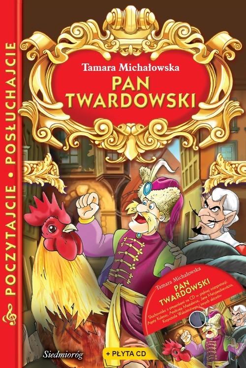 okładka Pan Twardowski + płyta CD Poczytajcie, posłuchajcie, Książka | Michałowska Tamara