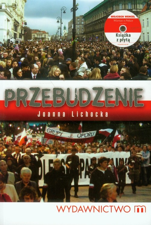 okładka Przebudzenie Książka z płytą CD, Książka | Lichocka Joanna