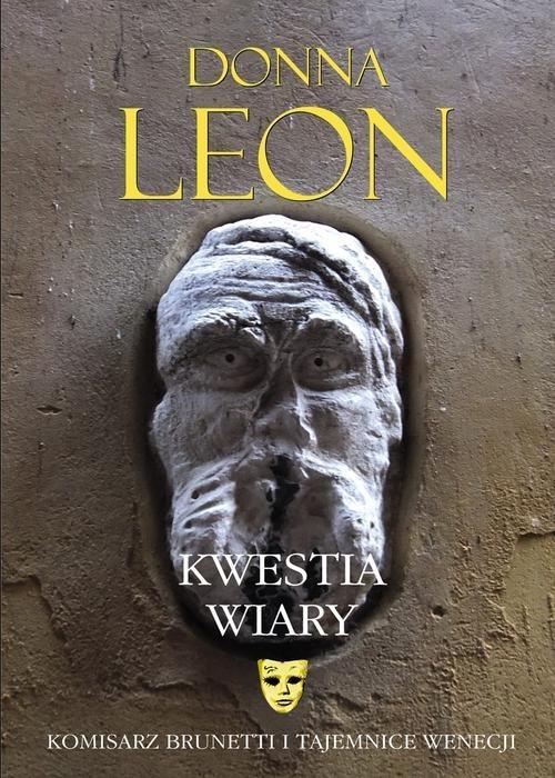 okładka Kwestia wiary, Książka | Donna Leon