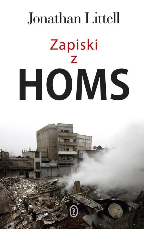 okładka Zapiski z Homs, Książka   Littell Jonathan