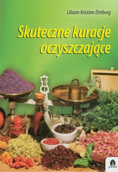 okładka Skuteczne kuracje oczyszczające, Książka | Liliann Kristinn Elmborg
