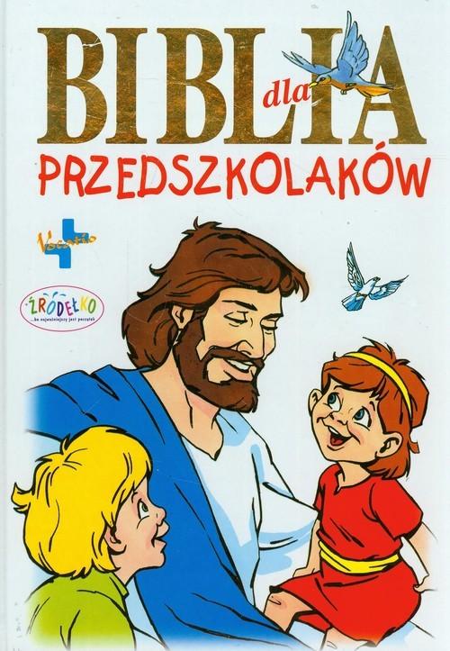 okładka Biblia dla przedszkolaków, Książka | prof Waldemar Chrostowski