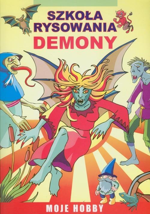 okładka Demony Szkoła rysowania, Książka | Jagielski Mateusz