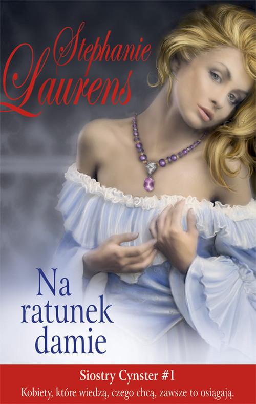 okładka Na ratunek damie, Książka   Laurens Stephanie