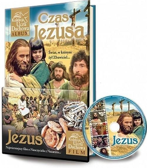 okładka Czas Jezusa + DVD, Książka | Marek  Balon